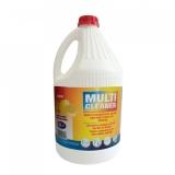 Gel pentru curatat multisuprafete, Multicleaner, cu clor si parfum de lamaie 4l Sano