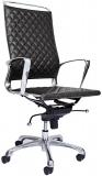 Scaun ergonomic Ell HB, piele ecologica, negru RFG