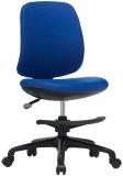 Scaun ergonomic pentru copii Candy Foot, damasc, albastru RFG