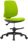 Scaun ergonomic pentru copii Candy Foot, damasc, verde RFG