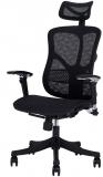 Scaun ergonomic Tech@Smart negru RFG