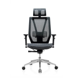 Scaun ergonomic Tech@Line negru RFG