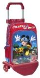 Troler de scoala 2 roti 40 cm Mickey Mouse