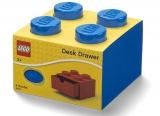Sertar de birou LEGO 2x2 albastru (40201731)