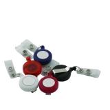 Dispozitiv cu snur retractabil pentru ecuson diverse culori