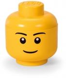 Cutie depozitare 40311724 S cap minifigurina LEGO baiat