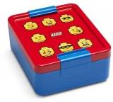 Cutie pentru sandwich LEGO Classic albastru-rosu