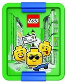 Cutie pentru sandwich LEGO Iconic albastru-verde
