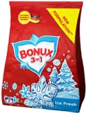 Detergent rufe manual 3 in 1 Ice Fresh, 7 spalari, 400 g Bonux