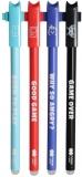 Roller gel cu rescriere, 0.5 mm, albastru, Games, Happy Color