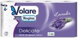 Hartie igienica Delicate, lavanda, 3 straturi, 8 role/set Volare
