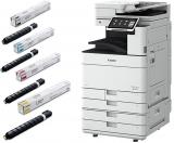 Pachet Multifunctional laser color Canon imageRUNNER Advance DX C5760i MFP + Piedestal Q2 + cartuse toner C-EXV51 BK/C/M/Y