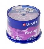 DVD+R 16X 4.7GB SP 50 bucati Verbatim