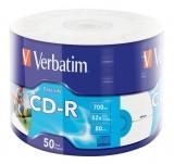 CD-R 700 MB 52X, Extra Protection, 50 buc/set Verbatim