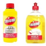 Detergent aragaz 375 ml + detergent vase 500 ml Triumf