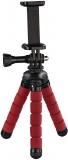 Mini Trepied Flex, 14 cm, pentru GoPro sau smartphone, Rosu Hama
