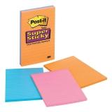 Notite adezive pentru conferinte Super Sticky Post-It® 101 x 152 mm 3M