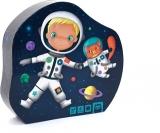 Puzzle progresiv 4 in 1 Micul astronaut EurekaKids