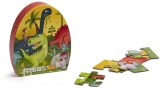 Puzzle educativ, 24 piese, Dinozaur EurekaKids
