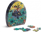 Puzzle educativ, 100 piese, Adancuri EurekaKids
