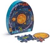 Puzzle educativ, 54 piese, Sistemul Solar EurekaKids
