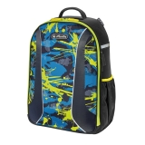 Rucsac Be.Bag ergonomic Airgo Camouflage Lemon Herlitz