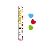 Tun confetti 30 cm Inimi Diverse Culori Big Party