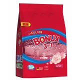 Detergent automat 3 in 1 Color Radiant Rose, 40 spalari, 4 kg Bonux