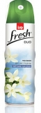 Odorizant spray de camera, Jasmine Sandal, 300 ml, Sano Fresh Duo