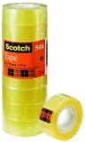 Pachet 12 bucati banda adeziva clasica 15 mm x 33 m Scotch 3M