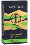 Cafea macinata Secrets of nature, Columbia, 250 g, Davidoff