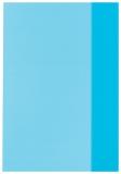 Coperti A5 albastru translucid set 25