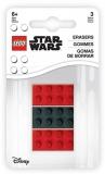 Set 3 radiere LEGO Star Wars