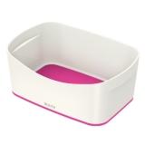 Tavita depozitare MyBox Leitz alb/roz