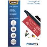 Folii laminare A4 lucioase 175 microni Protect 100 folii/top Fellowes