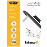 Folii laminare A4 80 mic 250 buc/set Fellowes