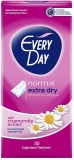 Absorbante zilnice Normal Extra Dry, extract musetel, 30 buc/set Everyday