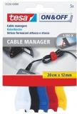 Banda arici cabluri 0.2 m x 12 mm 5 buc/set Tesa
