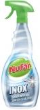 Solutie baie suprafete inox 500 ml Nufar