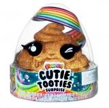 Set figurina surpriza si gelatina, auriu, Cutie Tooties Surprise Poopsie