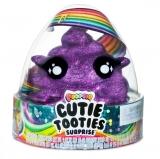 Set figurina surpriza si gelatina, mov inchis, Cutie Tooties Surprise Poopsie