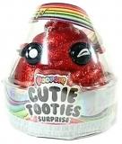 Set figurina surpriza si gelatina, rosu, Cutie Tooties Surprise Poopsie