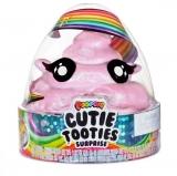 Set figurina surpriza si gelatina, roz deschis, Cutie Tooties Surprise Poopsie