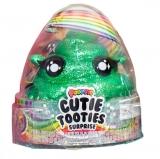 Set figurina surpriza si gelatina, verde, Cutie Tooties Surprise Poopsie