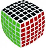 Puzzle mecanic V-Cube 6 bombat