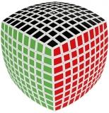 Puzzle mecanic V-Cube 9 bombat