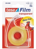 Dispenser Easy Cut + banda transparenta 33 m x 19 mm Tesa