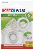 Banda adeziva invizibila 10 m x 19 mm cu dispenser Tesa