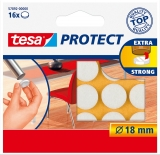 Protectii antizgarieturi 18 mm alb Tesa
