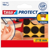 Protectii antizgarieturi 18 mm maro Tesa